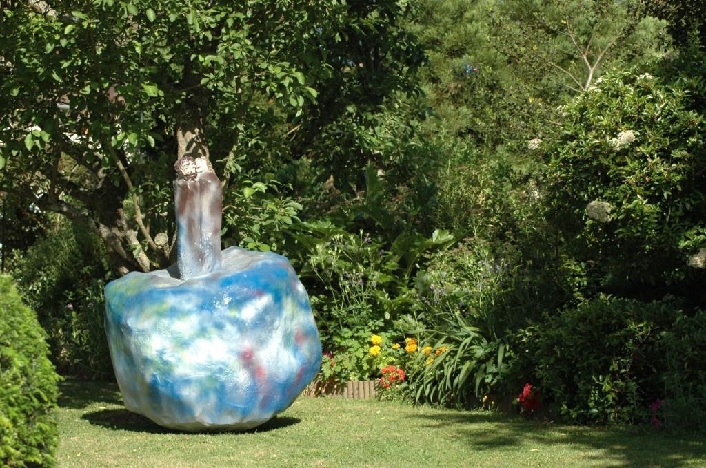 Martine MAGRITTE le fruit défendu rendez-vous-aux-jardins 2011